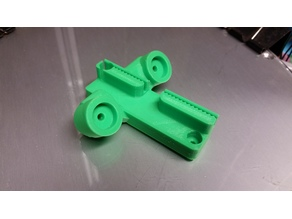 Kossel magnetic carriage to suit 12mm magnets