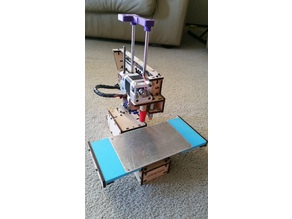 Printrbot Simple 1405 Full Bed extension X ends