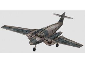 Fallout New Vegas Prop Plane