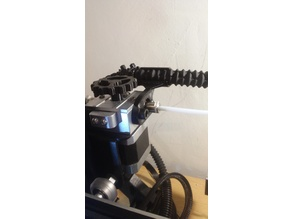 Bulldog extruder cable clip