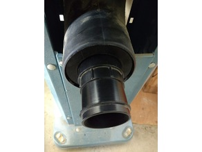 Jet Dust Collector Hose Adaptor (90mm ID to 58mm OD)