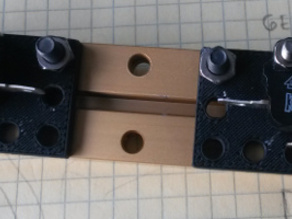 Gersung switch holder for MakeBlock