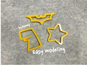 Make a cookie cutter by online!!