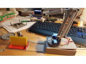 "arduino robot arm ""Xarm"""