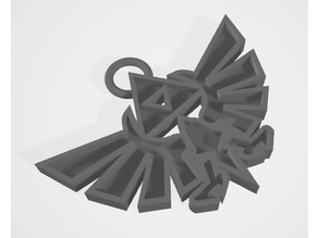 Hyrule crest pendant