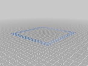 Bed Leveling Calibration test object