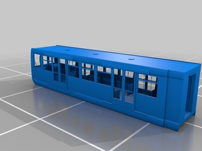 Docklands Light Rail Train Car