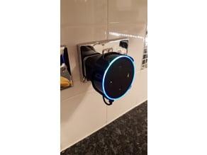 Echo Dot 2 UK socket mount