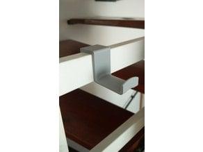 Hooks for banister