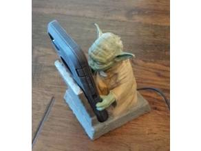 Yoda Phone Holder and Charging Station