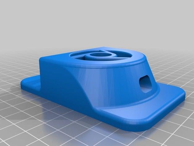 Chromecast gen3 holder by Riihimasa - Thingiverse
