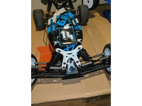 Kyosho RB6.6 front shock tower