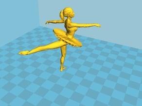 Ballet Dancing Girl