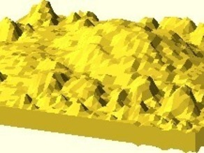 OpenScad Height Maps v0.5