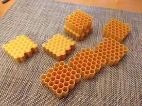 Customizable honeycomb generator