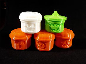Mini Halloween McBuckets