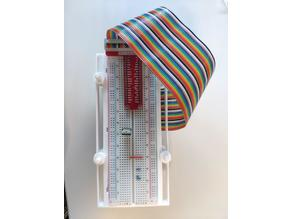 Raspberry and Breadboard Stackable