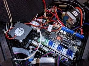 Trigorilla Fan Mount for Stepper Controller / TMC2100