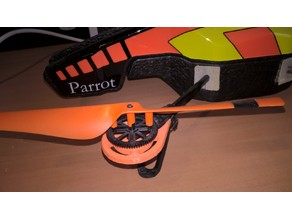 Parrot AR.Drone gear and shaft protection
