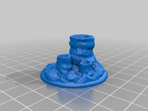 Bubble Pools Objective Marker for Epic 40K (6mm scale)