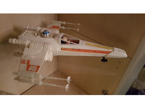 Replacement Canopy for Kenner Vintage X-Wing