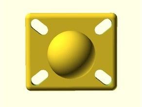 AMPs Hole Pattern Ball Mount