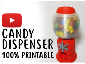 Candy Dispenser 100% printed