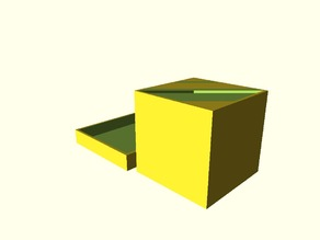 Parametrized Simple Box with Lid