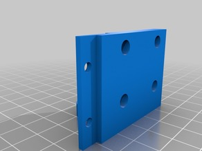 Anet A2 Z-Bbracket with Integrated Endstop