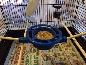 bird cage feeding bowl