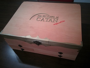 Settlers of Catan Storage Box