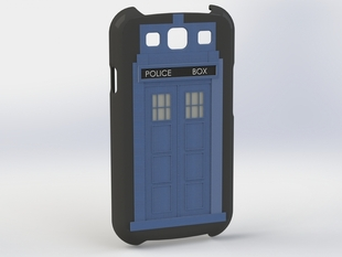 GS3 Tardis - Doctor Who Case