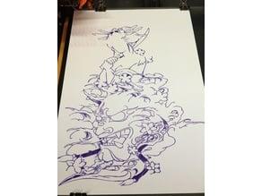 DrawPlott Drawing #Epic Maimu