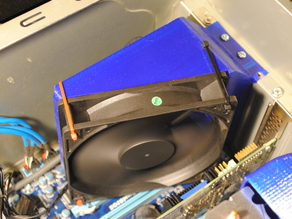 120mm Case Fan Duct for PCI/ATX Expansion Slot