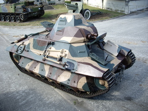 FCM 36 - Char léger Modèle 1936 FCM - tank