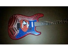Spidocaster 3D Printed Guitar - Working Design