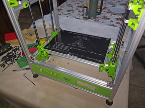 Dual Z and Bed Mount for Hypercube