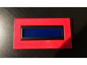 1602 LCD Bezel