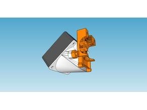 Prusa i3 mk2 60x60x25 cooling fan mount