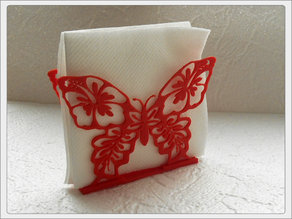 "Napkins holder ""Butterfly"""
