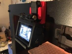 GoPro mount for Replicator 2