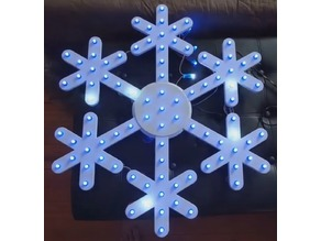Snowflake to use with pixel LEDs