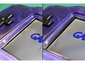 Game Boy Advance Backlight Bleeding Protector