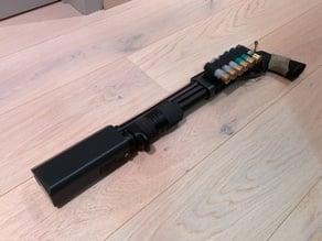 Airsoft M870 Breacher Tracer