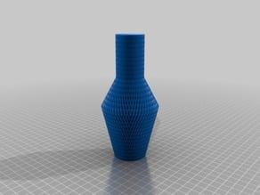Rhomb Pattern Vase