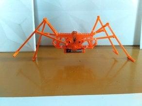 Spider walking machine