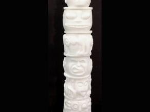 Totem Pole Miniature