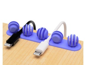 USB cable holder (Honey spoon type)