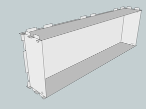 Eurorack Lasercut Case 84HP 3U 63mm