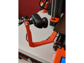 Prusa MK3 GoPro Mount Longer and Taller